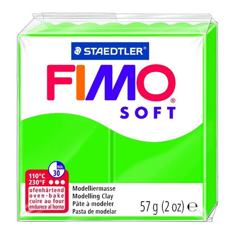 Voolimismass FIMO SOFT 57g, troopiline roheline