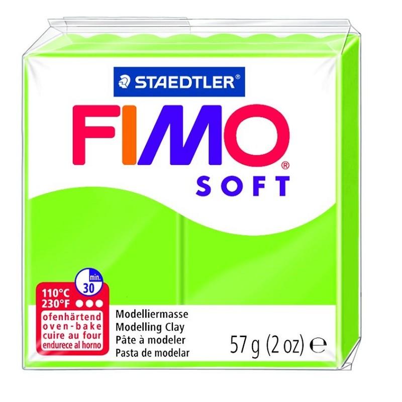 Voolimismass FIMO SOFT 57g, õunaroheline