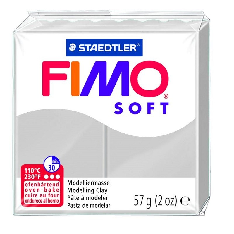 Voolimismass FIMO SOFT 57g, hall