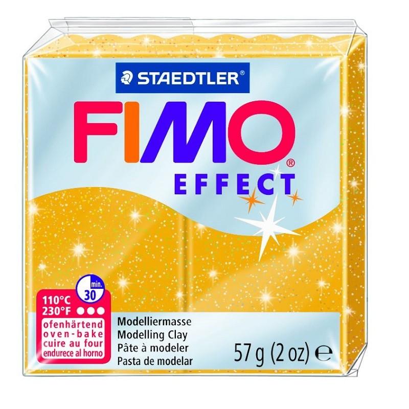 Voolimismass FIMO EFFEKT, 57g, sädelev kuldne