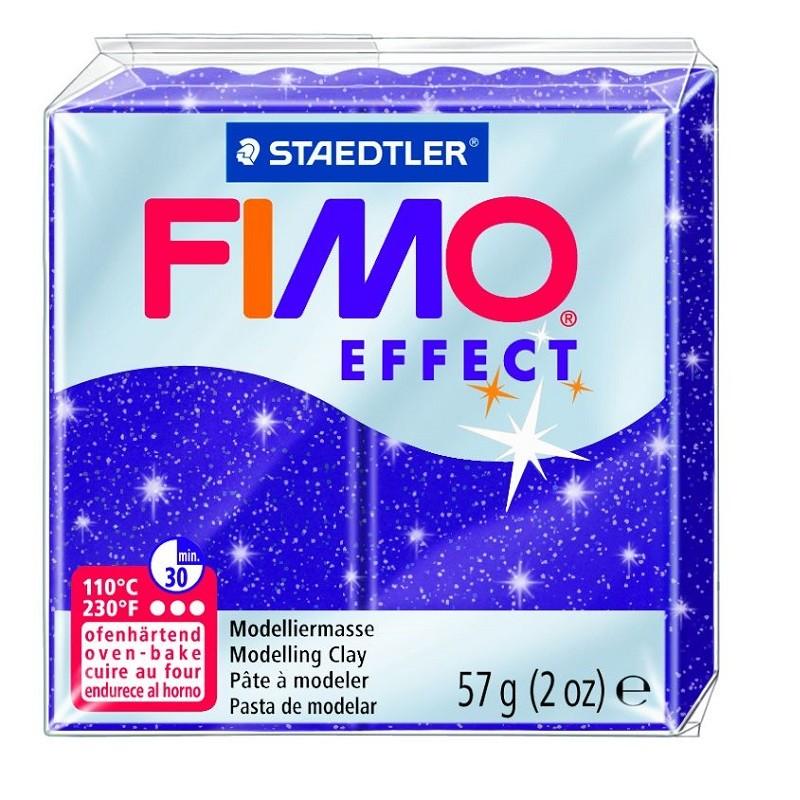 Voolimismass FIMO EFFEKT, 57 g, sädelev lilla