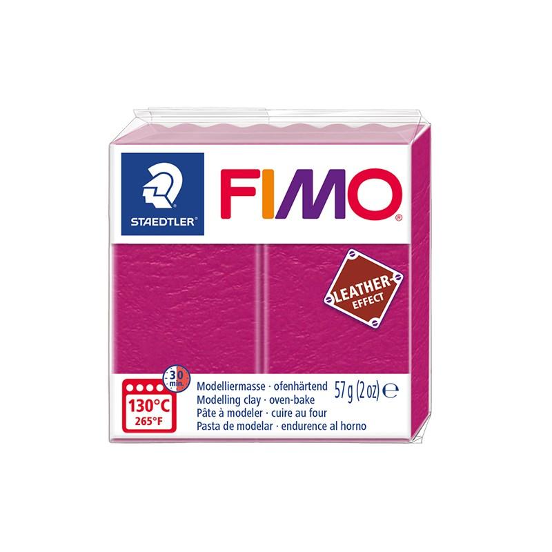 Voolimismass FIMO, naha imitatsioon, 57g, fuksia