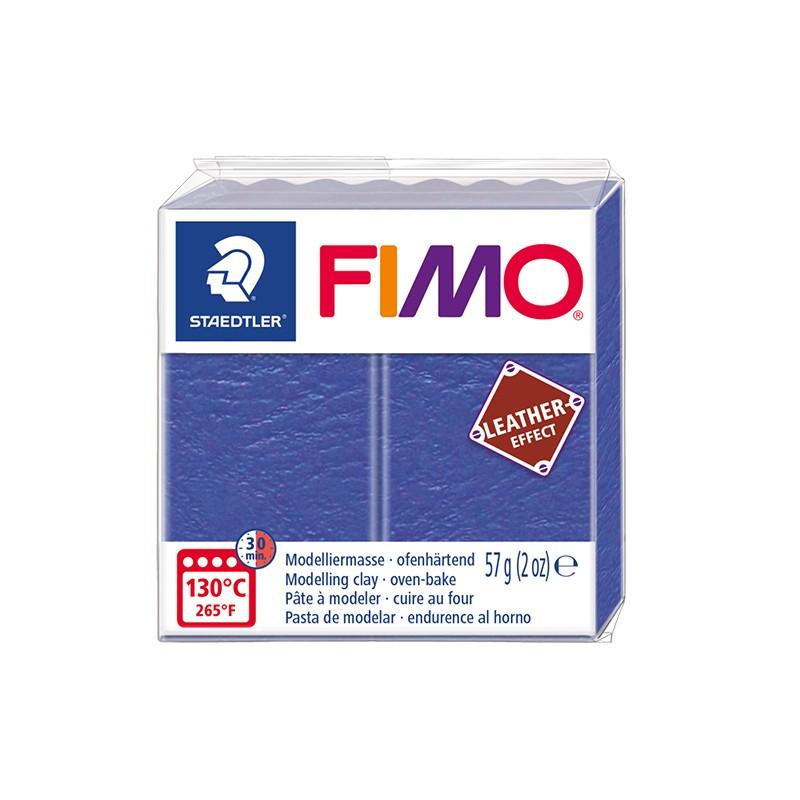 Voolimismass FIMO, naha imitatsioon, 57g, sinine