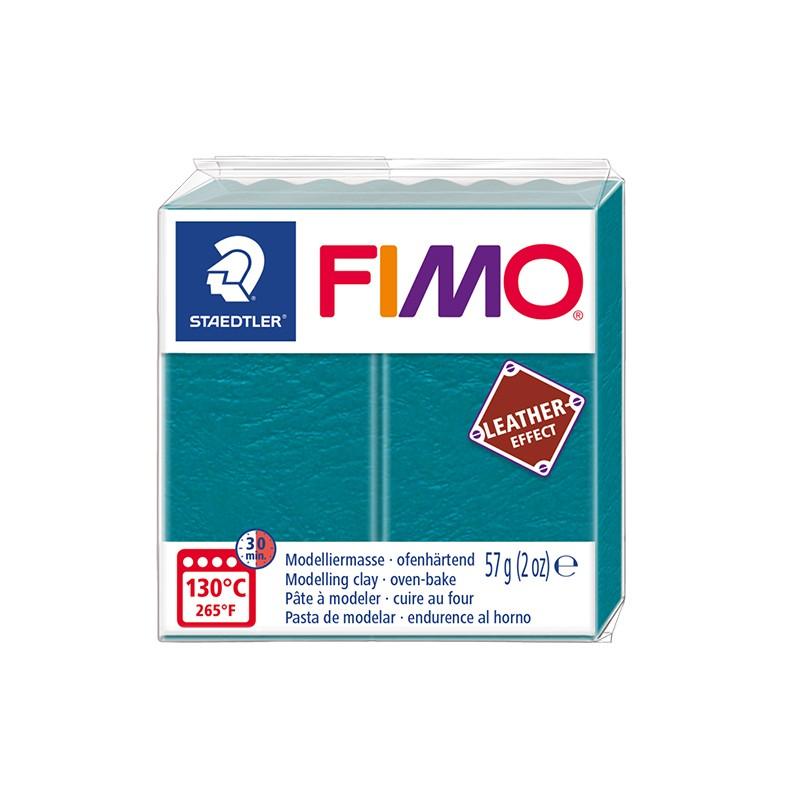 Voolimismass FIMO, naha imitatsioon, 57g, laguuni sinine