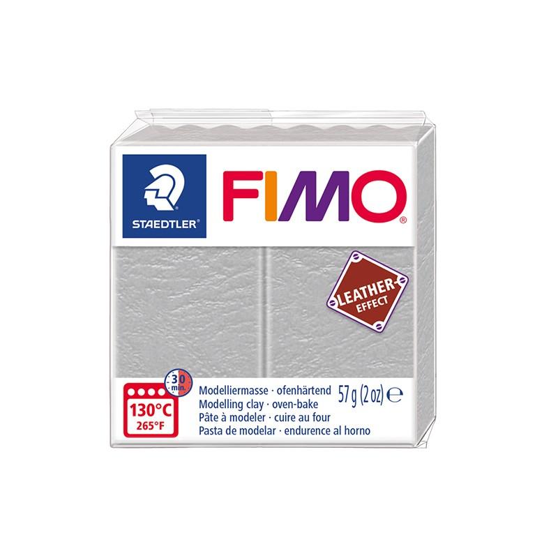Voolimismass FIMO, naha imitatsioon, 57g, helehall