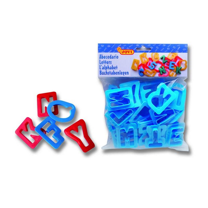 Plastiliini vormid JOVI tähestik, 28tk