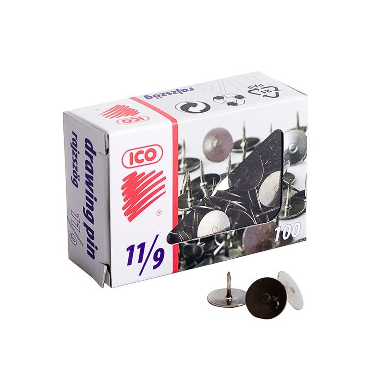 Rõhknaelad ICO 11/9, 25mm, 100tk