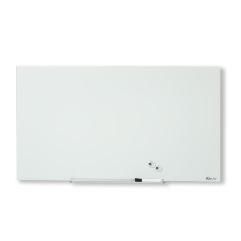 """Klaastahvel magnetpinnaga NOBO DIAMOND 85"""", laiekraan, 188x106 cm, valge"""
