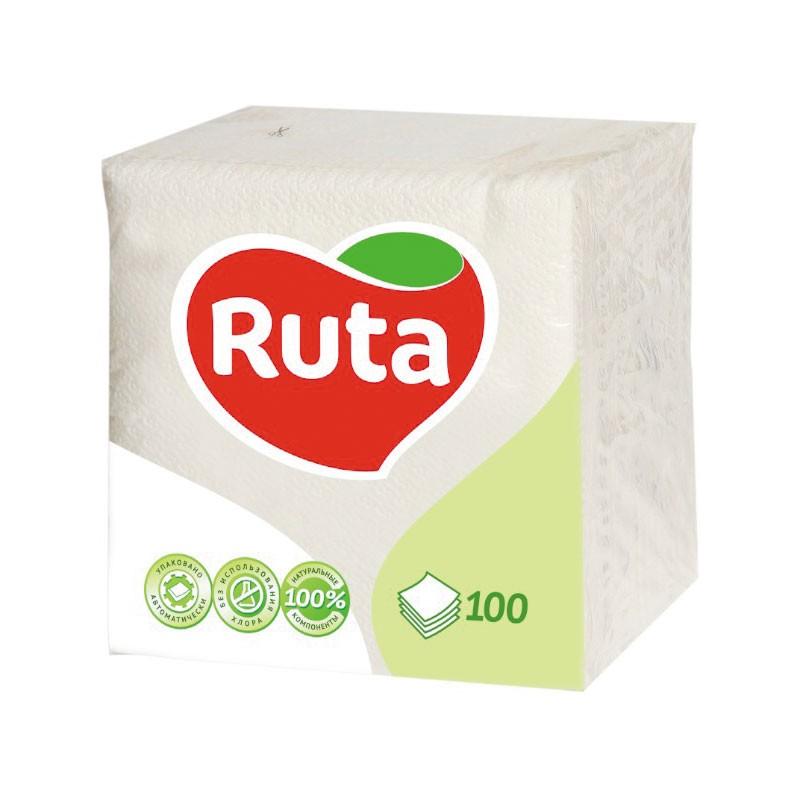 Salvrätikud Ruta, 1-kih, 100l, 24 x 24 cm,valge