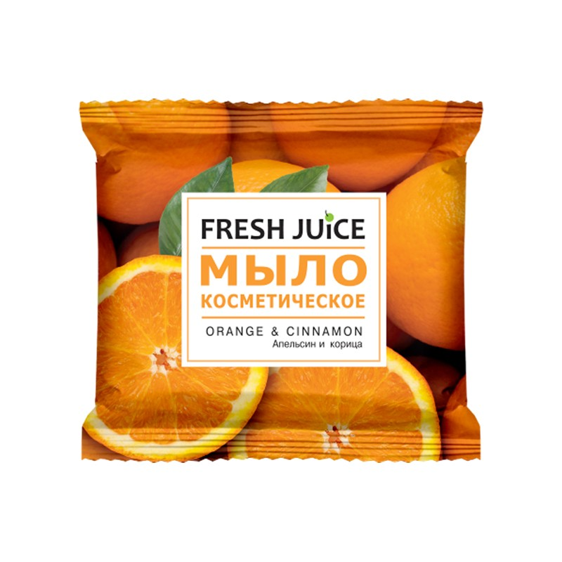 Tualettseep FRESH JUICE Orange & Cinnamon, 75g