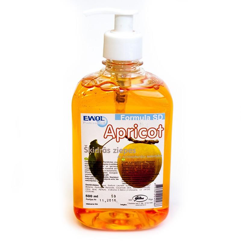 Vedelseep Ewol SD Formula, aprikoos, 500ml