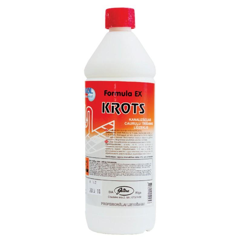 Puhastusvahend kanalisatsiooni Ewol Professional Formula EX 1L (Krot)