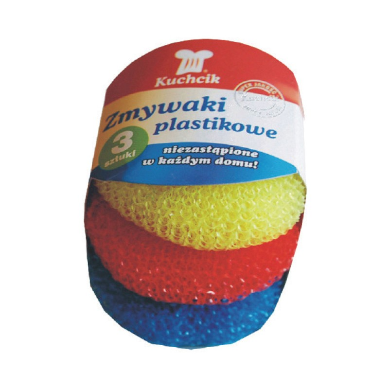 Küürimiskäsn plastikust Kuchcik, 3 tk