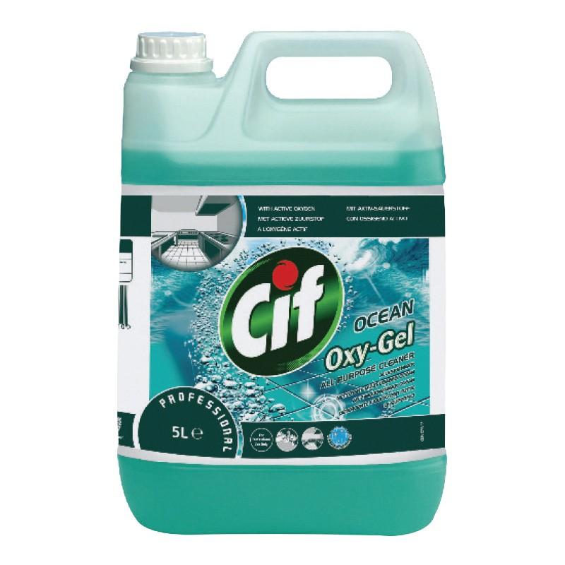Puhastusvahend universaalne CIF Professional Oxygel, 5L