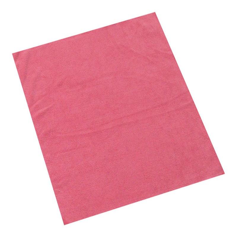 Puhastuslapp mikrokiust ABENA 40x40cm, punane
