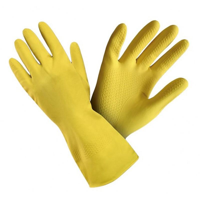 Kummikindad XL/10, kollane lateks