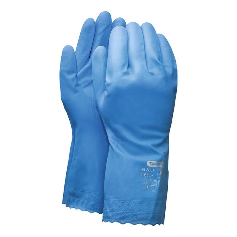Vinüülkindad Vinyl´X TAMREX 3801, suurus 9, sinine, 1tk