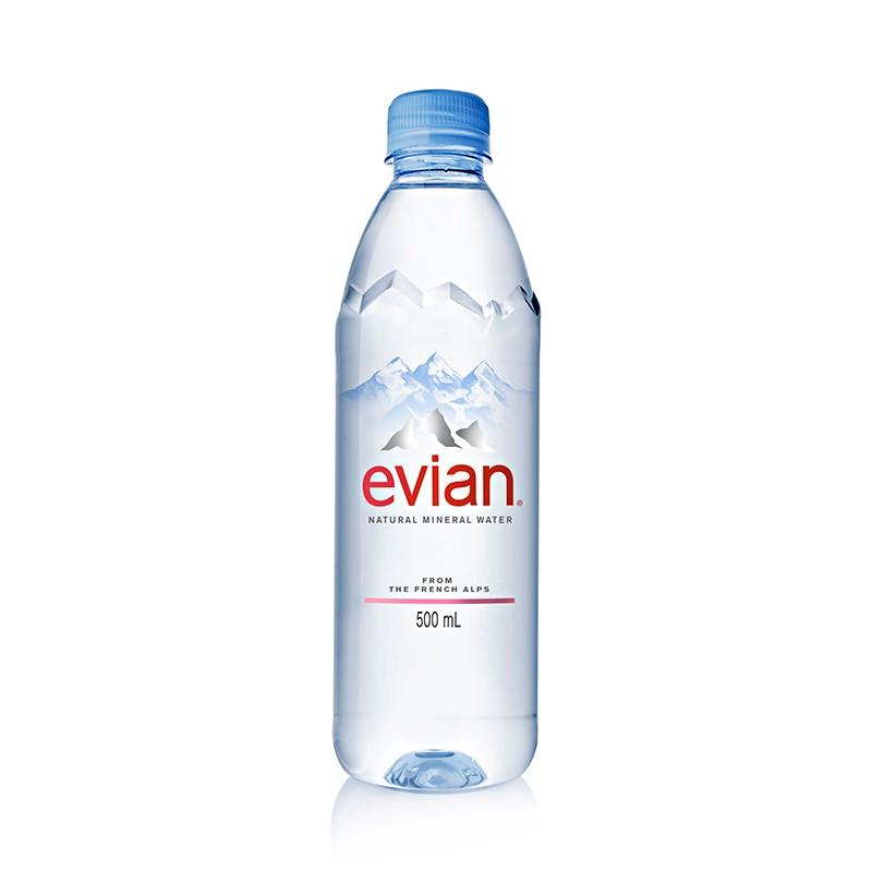 Mineraalvesi Evian 0,5L gaseerimata, plastpudel