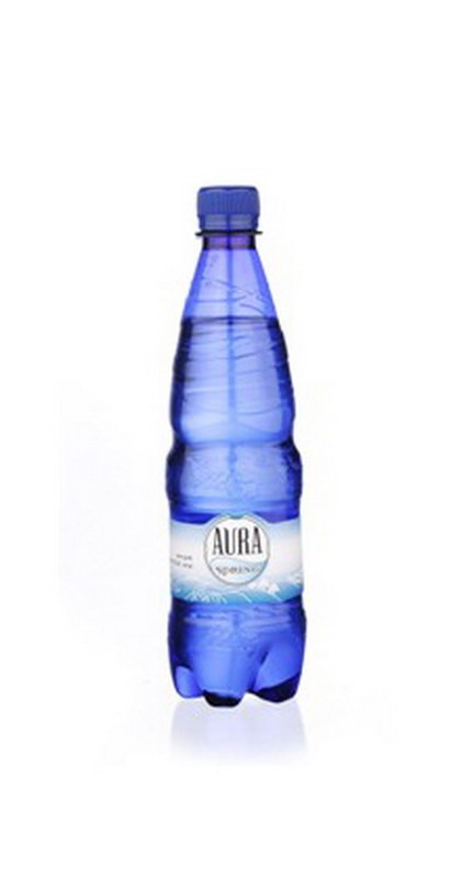 Vesi Aura Spring kergelt karboniseeritud 0,5L, plastpudel