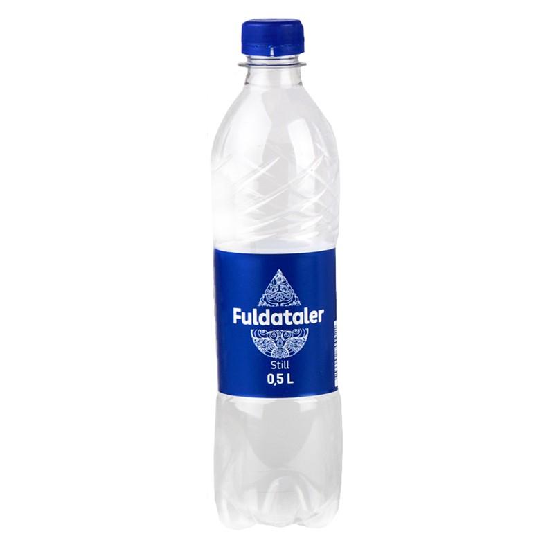 Vesi FULDATALER, karboniseerimata, 0.5 L, plast