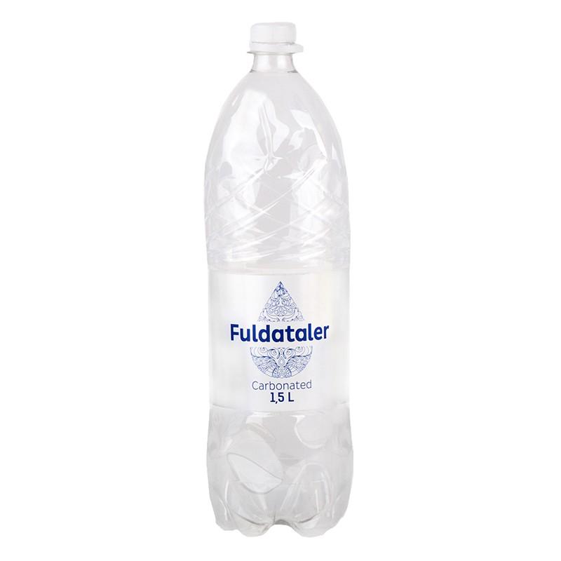 Vesi FULDATALER, karboniseeritud, 1.5 L, plast