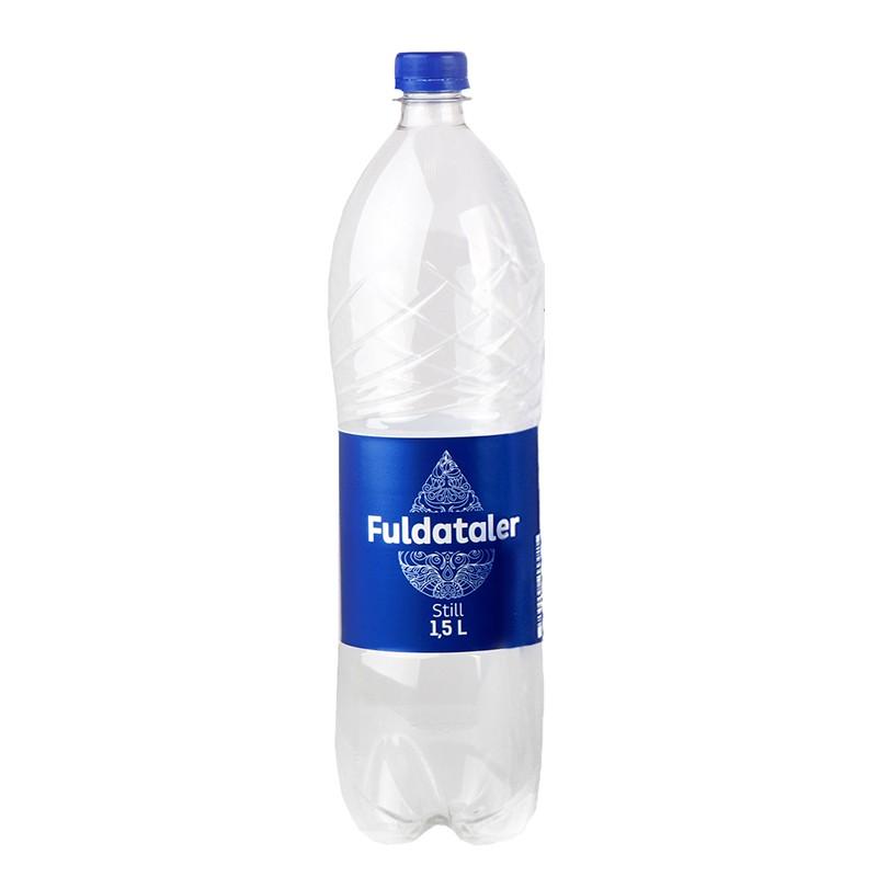 Vesi FULDATALER, karboniseerimata, 1.5 L, plast
