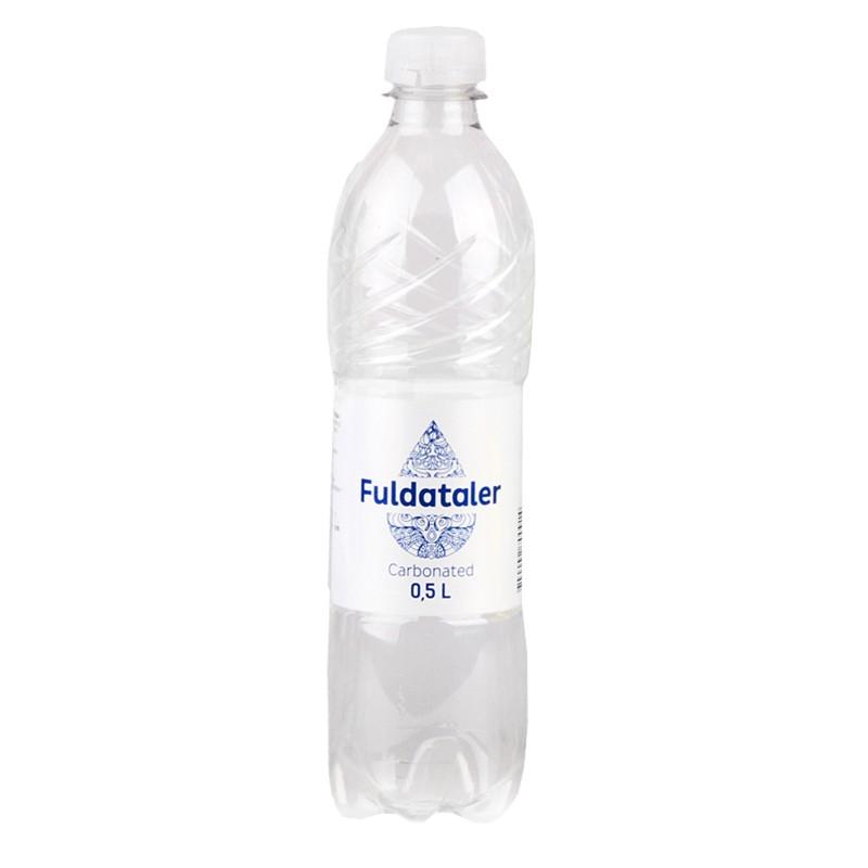 Vesi FULDATALER, karboniseeritud, 0.5 L, plast