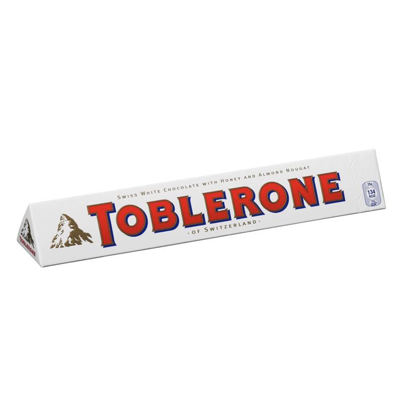 Valge šokolaad Toblerone, 100 g