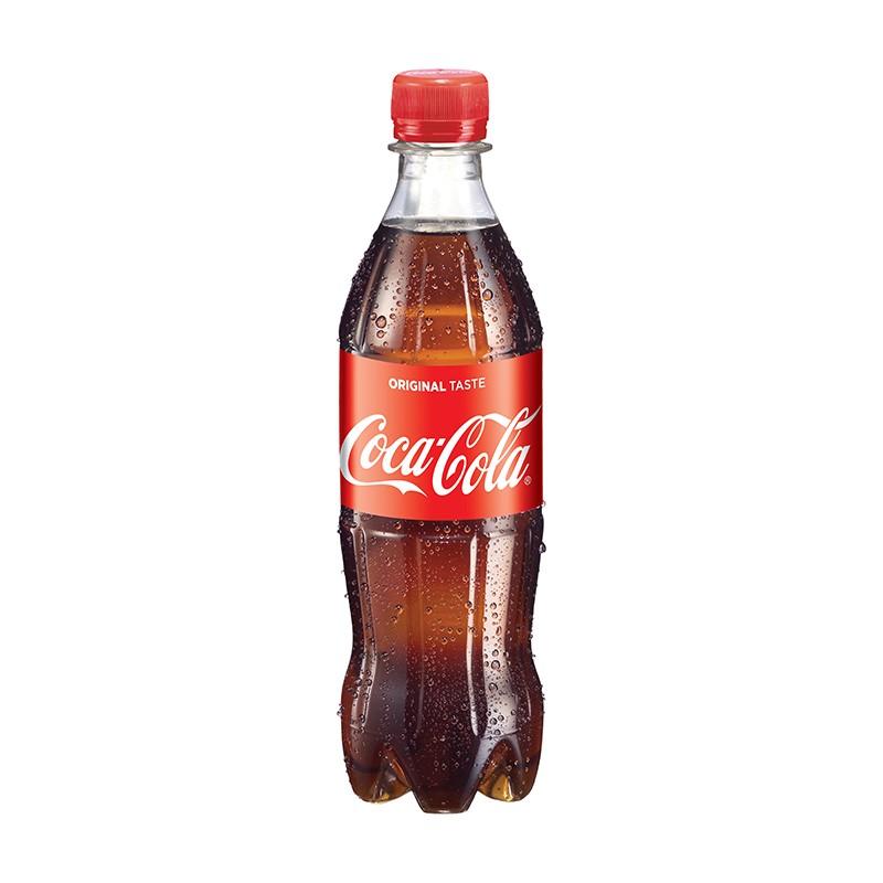 Coca-Cola 0,5l, plastpudel