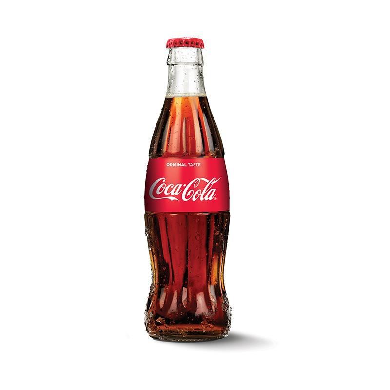 Coca Cola 0,25l, klaaspudel