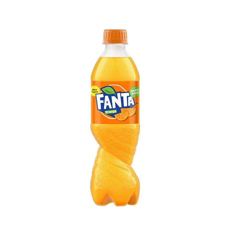 Fanta apelsini 0,5l, plastpudel
