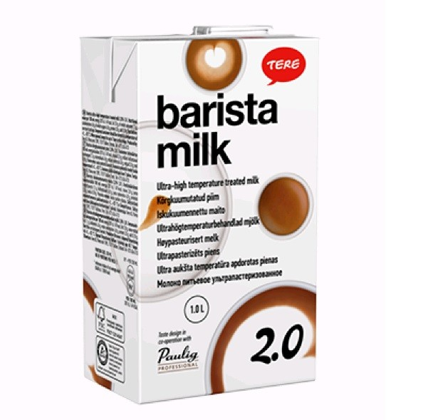 Piim Tere Paulig Barista 2,0% 1L