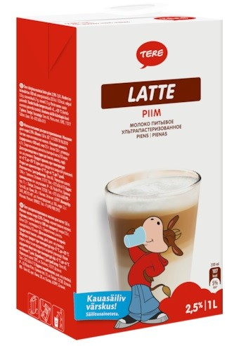 Piim Tere Latte 2,5% 1L