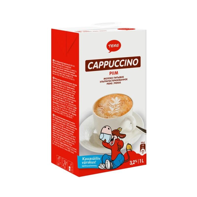 Piim Tere Cappuccino 3,2 % 1L