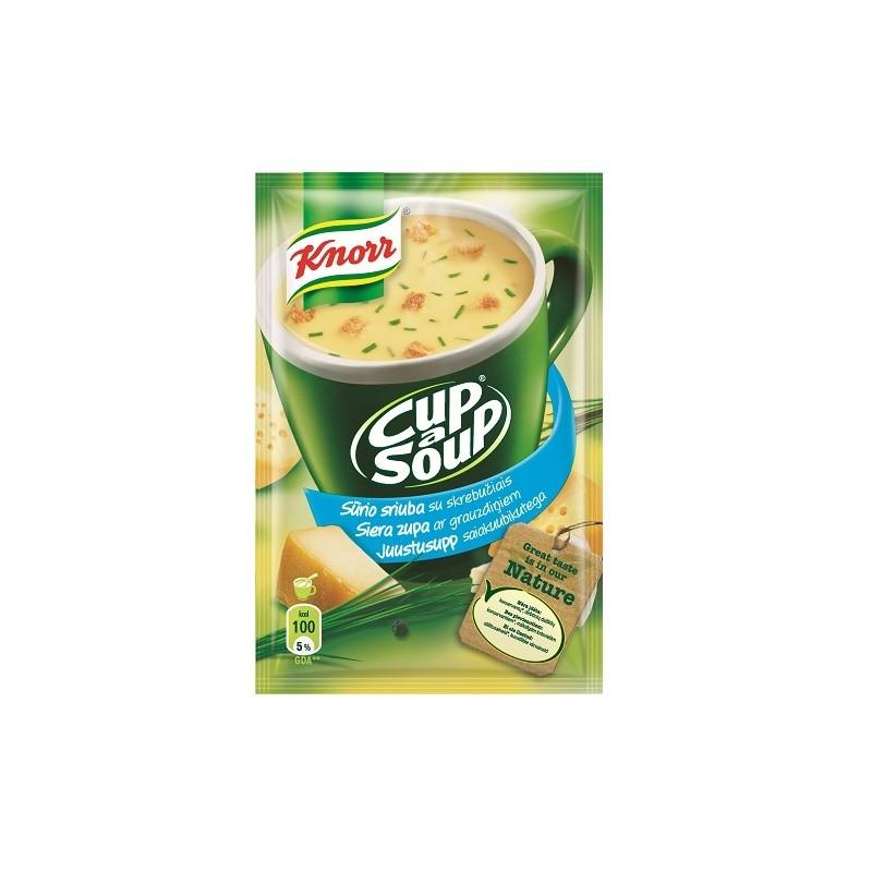 Kiirsupp KNORR juustu ja saiakuubikutega, 19g