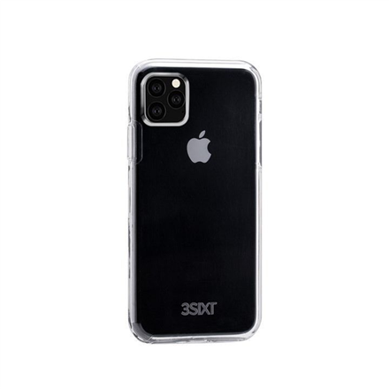 3SIXT Red Pure Flex 2.0 Case (3S-1679) Back protection, Apple, iPhone 11 Pro Max, Polycarbonate, Transparent