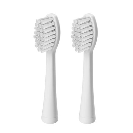 ETA SONETIC Toothbrush replacement ETA071190100 For adults, Heads, Number of brush heads included 2, White