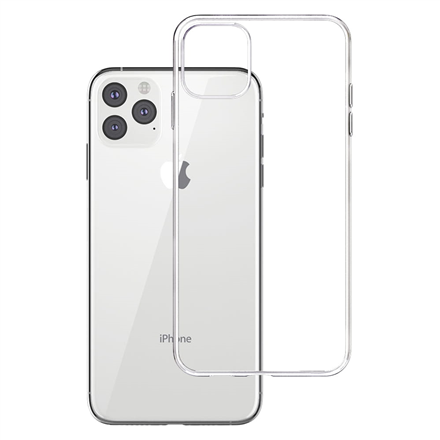 3MK Clear Case Back cover, Apple, iPhone XI Pro Max, TPU, Transparent