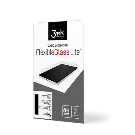 3MK FlexibleGlass Lite Screen protector, Apple, iPhone XI Pro Max, Unbreakable hybrid glass, Transparent