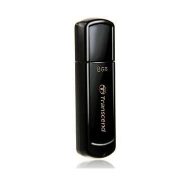 MEMORY DRIVE FLASH USB2 8GB/350 TS8GJF350 TRANSCEND
