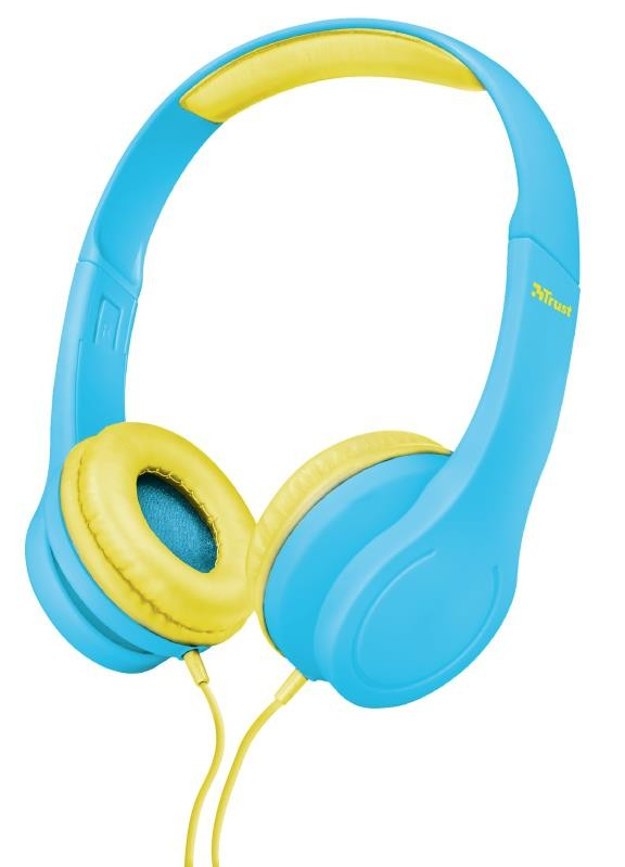 HEADPHONES BINO KIDS BLUE/22489 TRUST