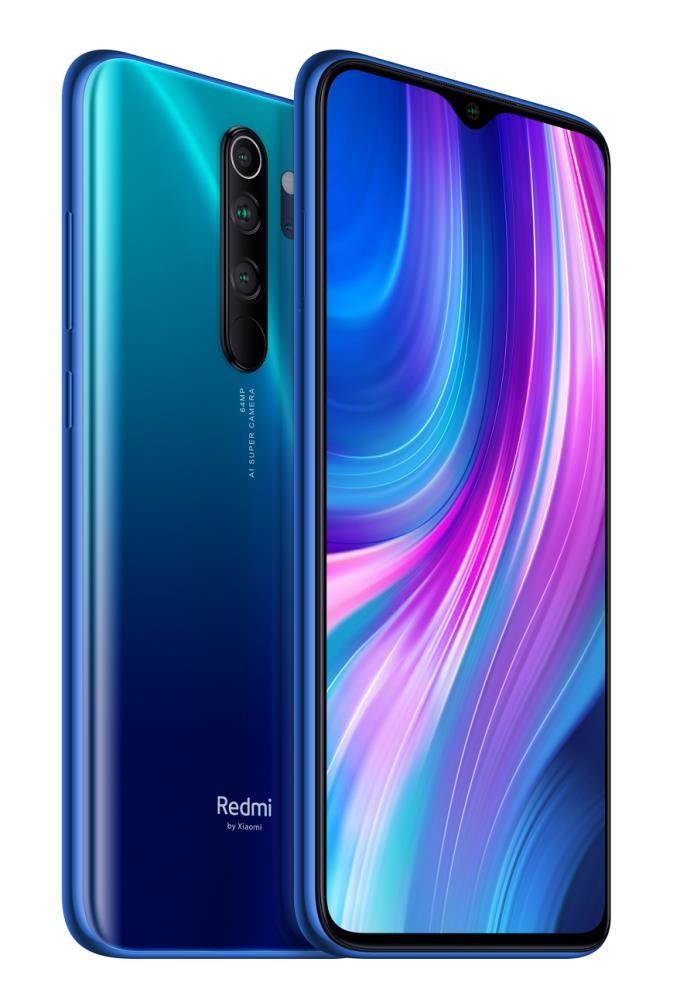 MOBILE PHONE REDMI NOTE 8 PRO/64GB BLUE MZB8545EU XIAOMI