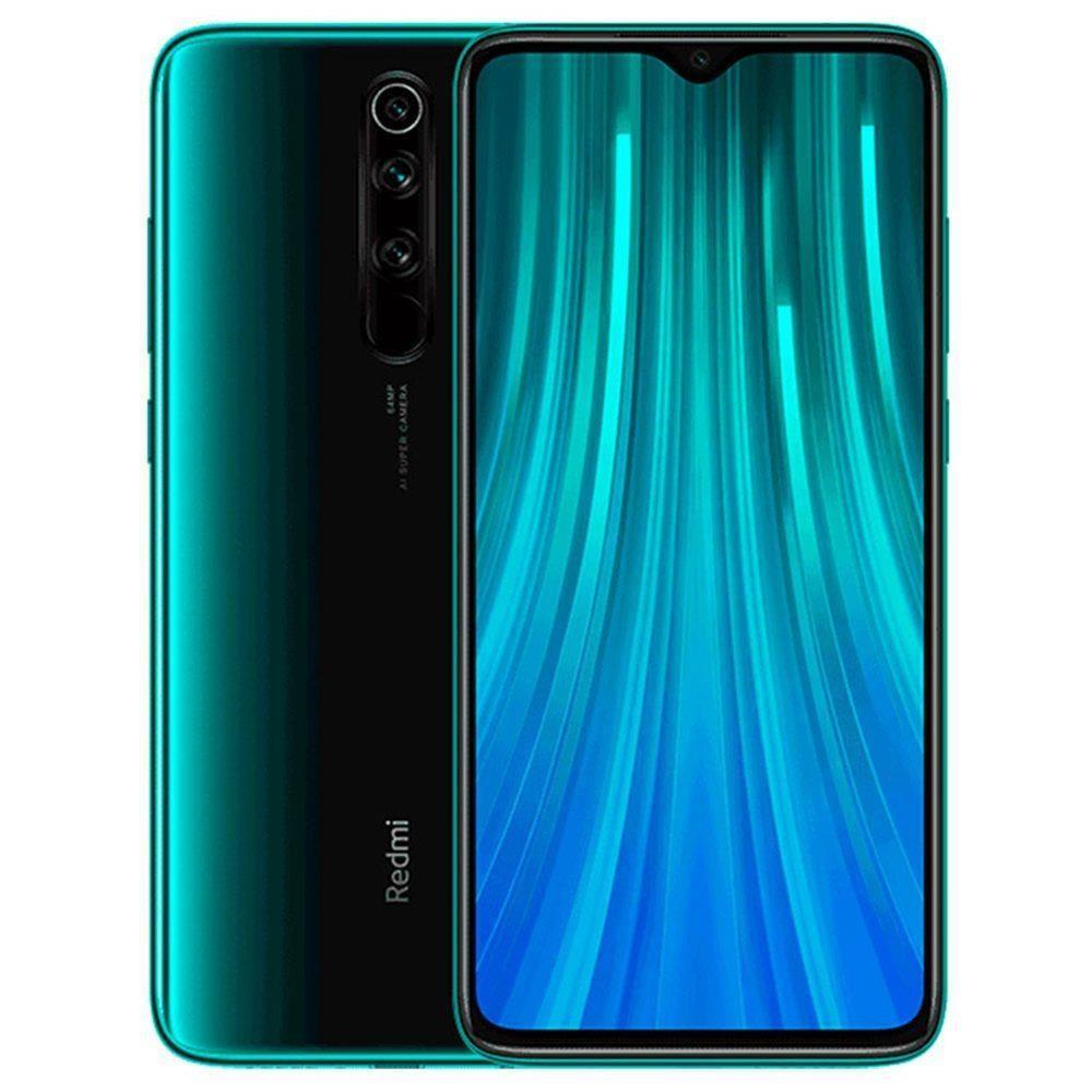 MOBILE PHONE REDMI NOTE 8 PRO/64GB GREEN MZB8619EU XIAOMI
