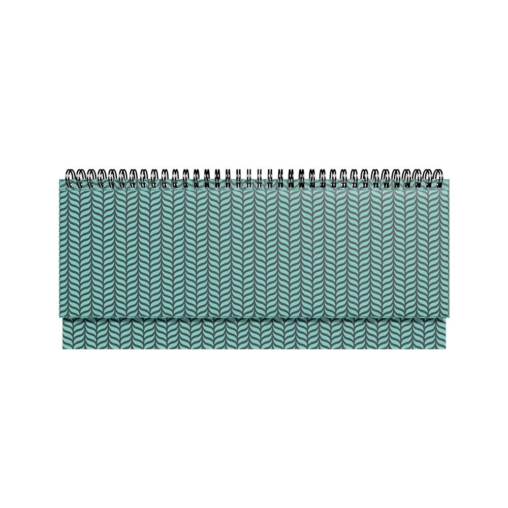 2912856268, Lauakalender PVC metallik roheline