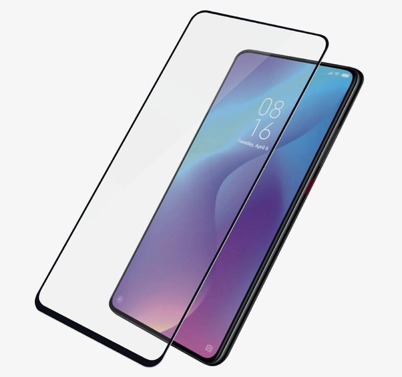 PanzerGlass Screen Protector, Xiaomi Mi 9T, Glass, Black/Crystal Clear