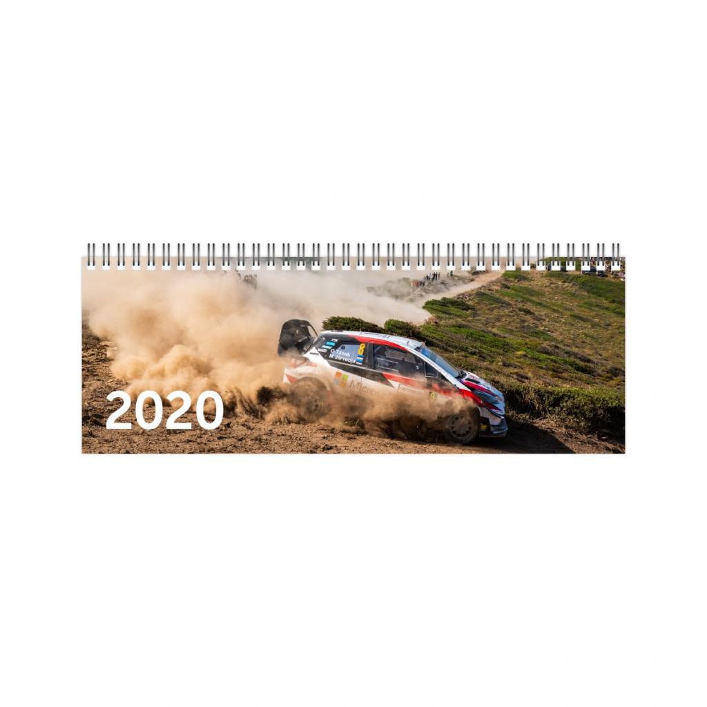 2912870626, Lauakalender Kartong WRC