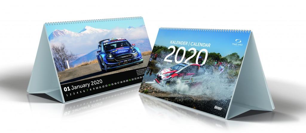2913054000, Lauakalender Lauakolmurk WRC