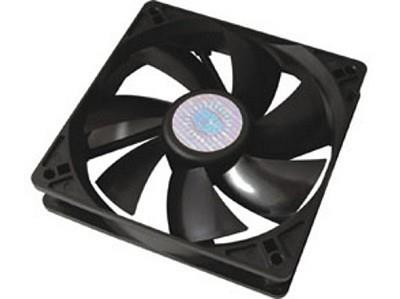 Cooler Master Silent Fan 120 SI1 Arvuti korpus Ventilaator 12 cm Must