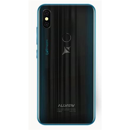 "Allview V4 Viper Blue, 5.7 "", IPS LCD, 720 x 1520 pixels, Mediatek MT6761 Helio A22, Internal RAM 1 GB, 16 GB, microSD, Dual SIM, Nano-SIM, 3G, 4G, Main camera 8 MP, Secondary camera 5 MP, Android, 9.0, 2700 mAh"