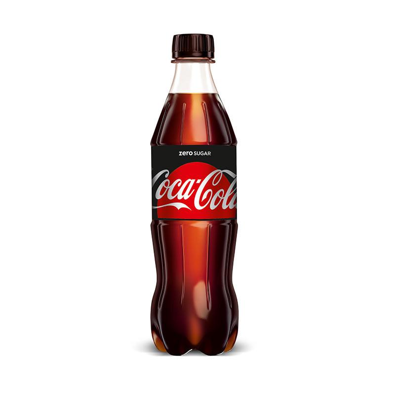 Coca-Cola Zero 0,5L. plast